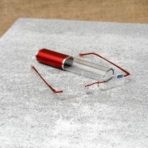 Oster Vid, Korekcijska očala model 04, rdeče barve